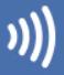 Visa タッチ決済 payWave のロゴ