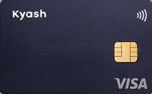 Visaタッチ決済対応「Kyash Card」