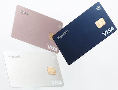 Kyash Cardのデザイン